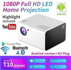 Máy chiếu Android gia đình độ phân giải thật Full HD 1080P – T10 mẫu mới 2021