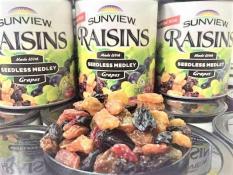 Nho Khô Mỹ Sunview Raisins 425g (Nho thập cẩm) (ncfoodvn)