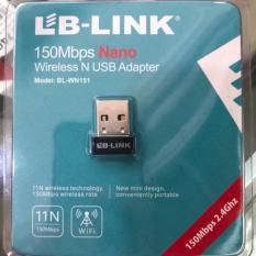[Nhập LZDEL51 giảm 10% tối đa 200k cho đơn 99k] Bộ thu sóng wifi LB-LINK BL-WN151 – Siêu khỏe – Nhỏ gọn