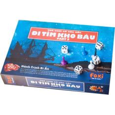 Game Xúc Xắc Vui Nhộn-Trò chơi trẻ em đi tìm kho báu Foxi phần 2 siêu hấp dẫn, phát triển tư duy toàn diện