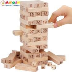 Bộ rút gỗ mộc 48 thanh loại to Vivitoy, Phát Triển Trí Tuệ Cho Bé Mầm Non 2 – 6 Tuổi, Đồ chơi gỗ – Đồ chơi trí tuệ – Đồ chơi thông minh cho trẻ, Shop Đồ Chơi Trẻ Em Thông Minh, An Toàn – AKOIN