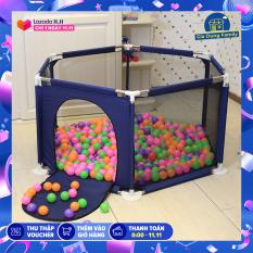 Lều Bóng khung thép không gỉ chắc chắn tặng kèm bóng, thiết kế siêu an toàn chắc chắn giành cho bé vui chơi mỗi ngày