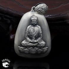 Mặt Dây Chuyền Phật Bạc Thái Như Lai- Bạc Nam Dragon