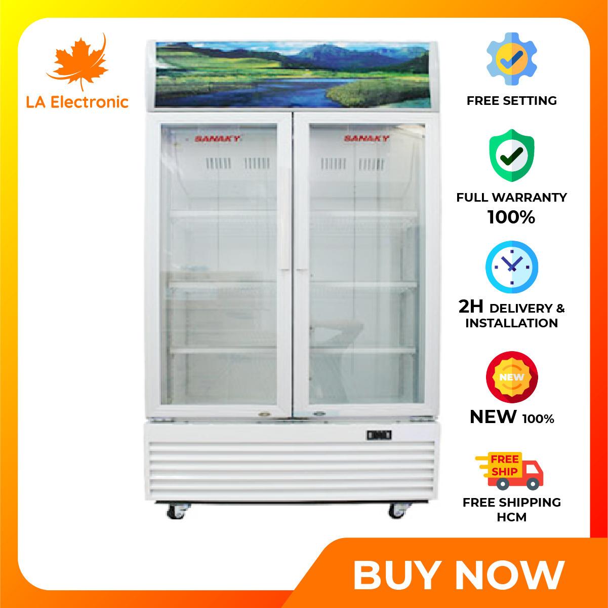Trả Góp 0% – Tủ Mát SANAKY 800 Lít VH VH-8009HP – Miễn phí vận chuyển HCM