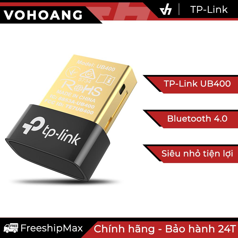 [HCM]USB Bluetooth 4.0 TP-Link UB400 dùng cho máy tính (Đen)
