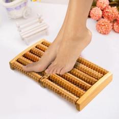 SALE MÙA DỊCH = Bàn lăn chân gỗ Massage 6 hàng ( 31 x 24 x 10 cm), LÀM BẰNG GỖ HƯƠNG CHẤT LƯỢNG CAO. ĐÁNH TAN MỆT MỞI SAU NGÀY DÀI LÀM VIỆC -50% (BẢO HÀNH 1 ĐỔI 1)