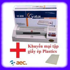 Máy ép plastic YT 320 khổ A3, A4 + Khuyến mại 1 tập giấy ép plastic