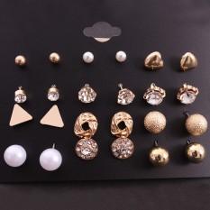 Combo 12 đôi bông tai nữ siêu đẹp MS244