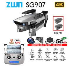 (NEW 2020) BỘ 2 PIN – Flycam SG907 4K hai camera kép, chụp ảnh và quay video bằng cử chỉ , thời gian bay 20p,Chống rung điện tử, cảm biến di chuyển theo lòng bàn tay và đi theo chủ, truyển hình ảnh trực tiếp về điện thoại