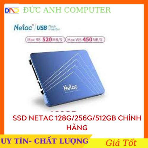 Ổ cứng SSD Netac 120GB 128GB 256GB – hàng chính hãng full box bảo hành 36 tháng sản phẩm tốt chất lượng cao cam kết hàng giống mô tả