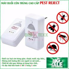 Máy Đuổi Chuột Gián Muỗi Và Côn Trùng Pest Repeller , Máy Xua Đuổi Côn Trùng Pest Reject Giúp Xua Đuổi Triệt Để Các Loại Côn Trùng Bằng Sóng Siêu Âm, An Toàn Cho Sức Khỏe – Thiết Thực Cho Gia Đình Bạn