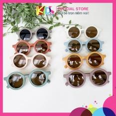 Kính cho bé trai bé gái từ 1 đến 6 tuổi mắt kính mát cho bé chống tia UV bảo vệ mắt trẻ em hợp thời trang TTRANG01-KINH