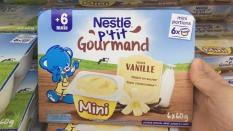 Váng sữa Nestle vị Vani 6x60g – Cho trẻ từ 6m date 06.2021