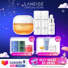Kem dưỡng vitamin C giúp sáng da Laneige Radian – C 30ML + tặng Bộ Dưỡng Trắng Da Mini White Dew – chính hãng