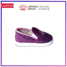Giày Vải Tập Đi Bé Trai Bé Gái Đẹp Crown UK Royale Baby Walking Shoes Trẻ em Cao Cấp 032821 Nhẹ Êm Size 3-6/1-3 Tuổi