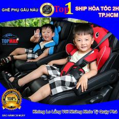Ghế ngồi phụ trên xe hơi, ô tô bảo vệ an toàn cho bé Hình Gấu Ngộ Nghĩnh