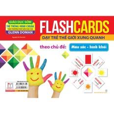 Flashcards – Màu Sắc – Hình Khối (Thẻ)