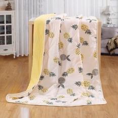 Chăn đũi hè 3 lớp trần bông mỏng thoáng mát cho bé (1,3×1,1m)