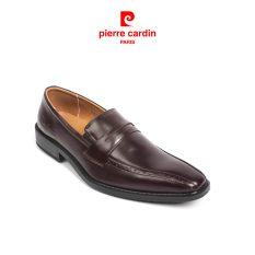 [ĐỘC QUYỀN CHÍNH HÃNG] Giày tây nam không dây Pierre Cardin màu đen, nâu trơn da bò nhập khẩu Italia cao cấp, đế giày xẻ rãnh chống trượt, thiết kế vừa vặn, sang trọng, lịch lãm, lót da cao cấp chống hôi chân – PCMFWL 046