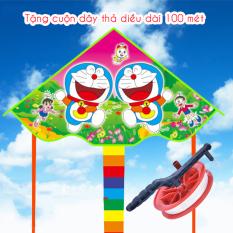 Diều Thả Dài 150cm Đại Bàng Doremon Công Chúa Mặt Cười Hoạt Hình Kèm Cuộn Dây 100 mét Legaxi