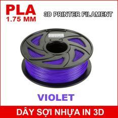 Dây sợi nhựa PLA in 3D 1.75mm 1Kg Violet