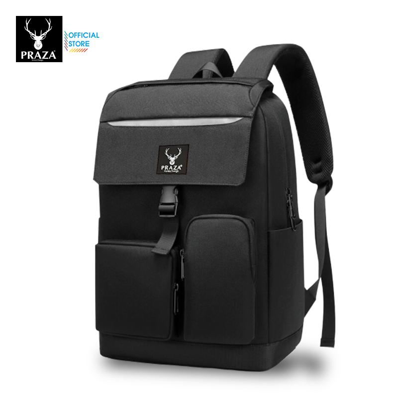 Balo Unisex Thời Trang Cao Cấp Có Phản Quang & Cổng Sạc USB Praza – BL183