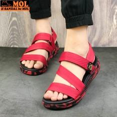 Giày sandal nữ hiệu MOL MS2 thích hợp đi học đi làm