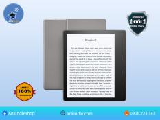 """Máy đọc sách Kindle Oasis 2 9th màn hình 7"""" 300PPI có phím bấm và chống nước NEW NGUYÊN SEAL 100% ( TẶNG KÈM COVER )"""