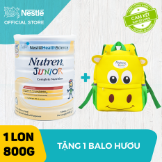 [FREESHIP] Sản phẩm dinh dưỡng y học Nutren Junior cho trẻ từ 1-10 tuổi 800g + Tặng 1 balo hươu xinh xắn – Cam kết HSD còn ít nhất 10 tháng – Giới hạn 5 sản phẩm/khách hàng