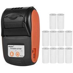 Máy in hóa đơn, máy in bluetooth nhiệt GOOJPRT- PT-210 Hỗ trợ in ViettelPay Pro, KiotViet. Kèm 10 cuộn giấy