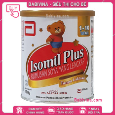 [CHÍNH HÃNG] Sữa Bột Similac Isomil Plus 400g   Cho Trẻ Từ 1-10 Tuổi, Bất Dung Nạp, Dị Ứng Đạm Sữa Bò, Tiêu Chảy   Babivina
