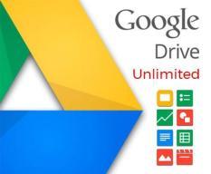 [Tặng miễn phí] Google Drive không giới hạn