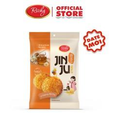 Bánh gạo Jinju Gold hương vị Ganjang mật ong Richy (date mới)