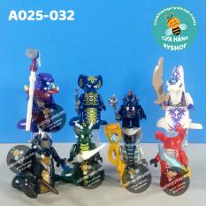 Non Lego – 8 chiến binh rắn trong NinjaGo – A025-032