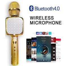 Micro karaoke Bluetooth YS-67 mới 2020 hát cực hay, pin cực trâu, bảo hành 1 đổi 1 (Có hoa văn nhiều màu)