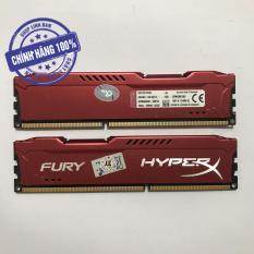 Ram máy tính để bàn 4GB DDR3 bus 1600 kingston hyperx fury (tản nhiệt)