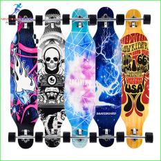 Ván trượt dài longboard 107 cm chuẩn chất lượng thi đấu, ván trượt thể thao, ván trượt chuyên nghiệp longboard