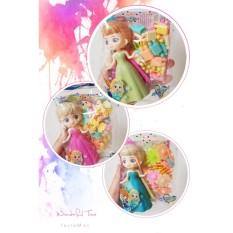 Túi đồ chơi búp bê công chúa kèm bộ xếp hình đáng yêu (1 túi giao mẫu ngẫu nhiên)