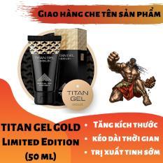 (Lô mới nhất) Titan-Gel-Nga GOLD cao cấp phiên bản giới hạn – Gel dành cho nam – hàng chuẩn Nga tăng kích thước cho cậu bé ( Che tên khi nhận hàng )