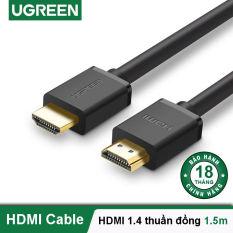 Dây HDMI 1.4 thuần đồng 19+1, độ dài từ 1.5m UGREEN HD104