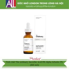 Tinh chất trắng da, thâm nám, chống lão hoá The Ordinary Ascorbic Acid 8% Alpha Arbutin 2% 30ml (Bill Anh)