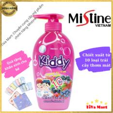 Sữa Tắm Gội Cho Bé MISTINE KIDDY 400ml Mùi Hương Trái Cây + Tặng Kèm Khăn Mặt – TiVa Mart