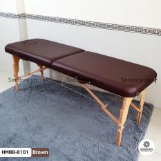 Giường Vali xếp gọn Hi-Mec HMBB-8101-60 (Nâu)