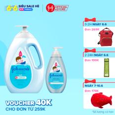 Bộ sản phẩm sữa tắm 1000ML và dầu gội thơm mát năng động Active fresh Johnsons hương thơm mạnh mẽ sảng khoái