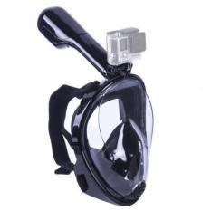 Mặt nạ lặn biển, kính lặn Full Face View 180 có ống thở, gắn được camera hành trình.