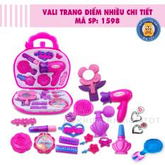 Đồ chơi trang điểm cho bé gái nhiều chi tiết kèm phụ kiện màu hồng 1598AB – Freeship NT HCM – Đồ khuyến mãi giá tốt