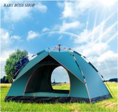 Lều cắm trại dã ngoại du lịch tự bung cao cấp 4 đến 6 người sử dụng 2mx2m1x1m35