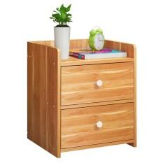 Tủ Gỗ Đầu Giường 2 Ngăn Kéo-Kệ để đồ – Tủ đầu giường – Tủ gỗ để đồ – Tủ gỗ đầu giường 2 ngăn kéo – Kệ đầu giường – kệ gỗ 2 ngăn cao cấp- tủ nội thất cao cấp, nhỏ gọn dễ tháo lắp