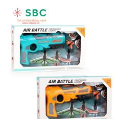 Đồ chơi s.úng bắn máy bay liên hoàn có 2 màu