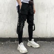 Quần pant kaki jogger nam túi hộp phong cách MILAN NA